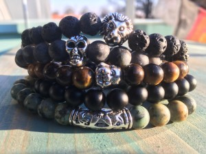 mens beads jewerly