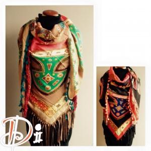 Ibiza look sjaal